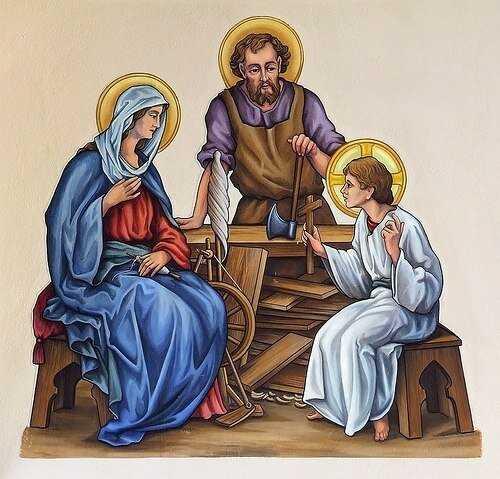 1 мая. Святой Праведный Иосиф Труженик 2