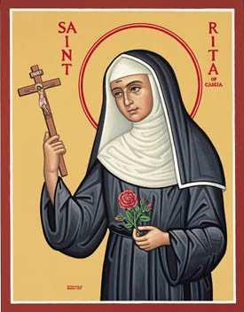 22 мая — св. Рита Кашийская 1
