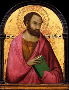 14 мая. Святой Матфий, апостол. Праздник 1