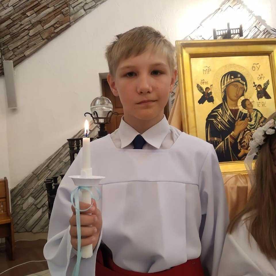 14 июня 2020 Первое причастие Кирилла, Владимира, Софии и Милены. 2