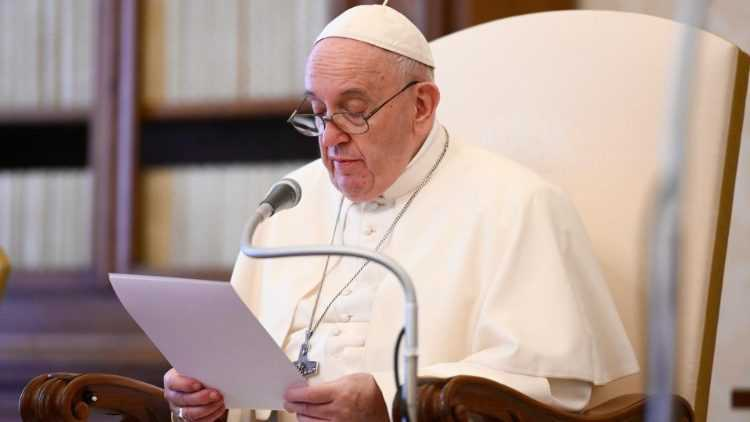 Папа: молитва - это также и дискуссия с Богом 1