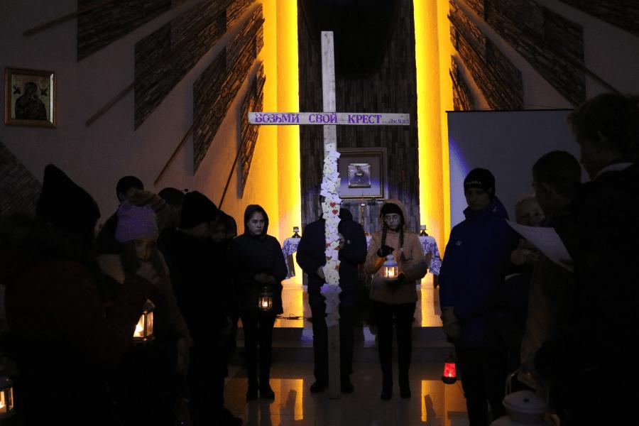 Богослужение Крестного пути
