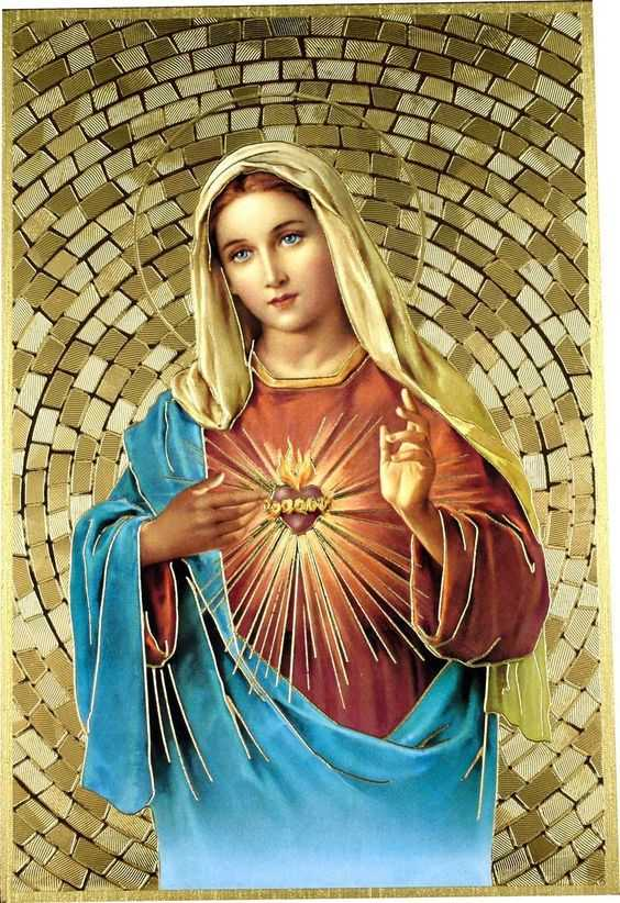 Молитвы к Непорочному Сердцу Марии