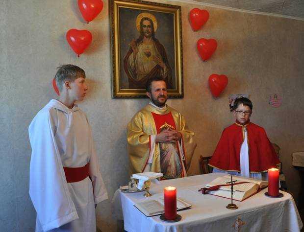 Приход Св. сердца Иисуса д. Георгиевка