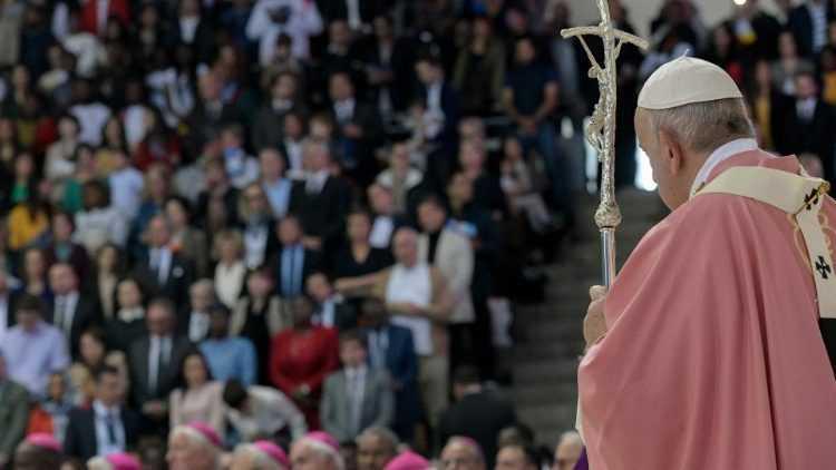 Заключительная святая Месса Папы Франциска в Марокко
