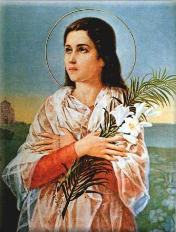 св. Мария Горетти, дева и мученица