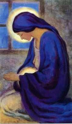 Молитва матери, ожидающей ребёнка