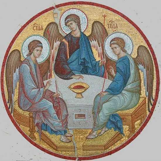 Посвящение себя Пресвятой Троице