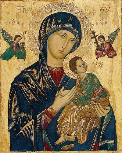 Теология Иконы Матери Божьей  Неустанной Помощи