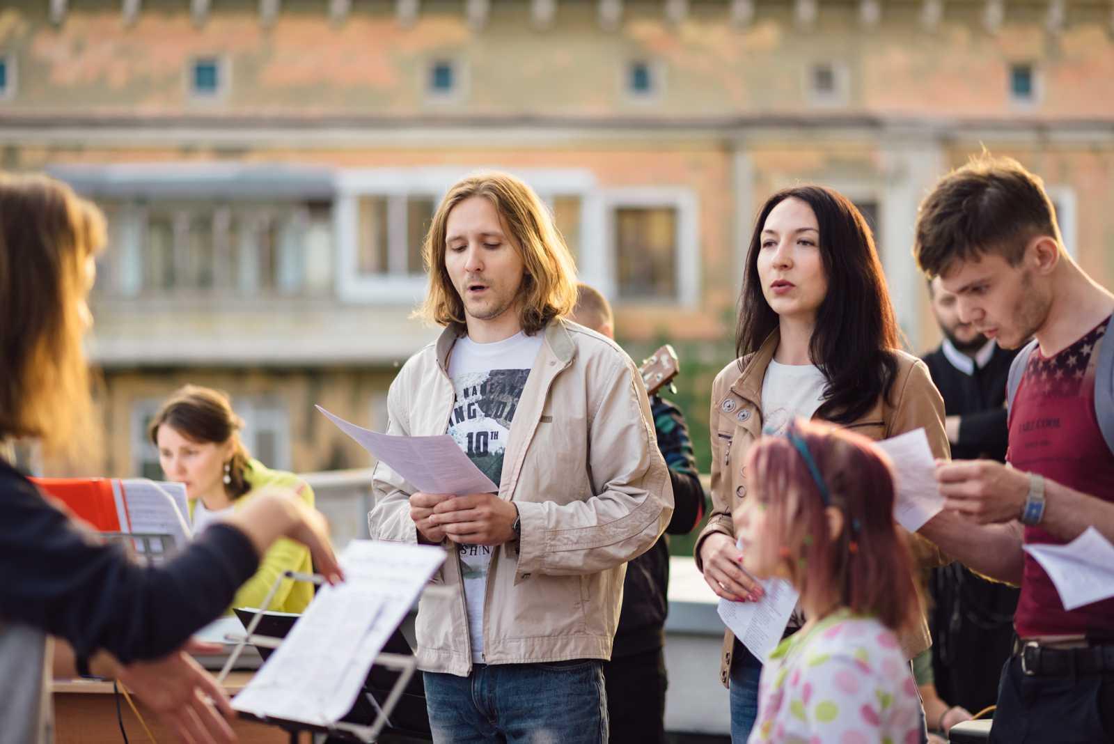15. июня прошел концерт Достойно есть 44