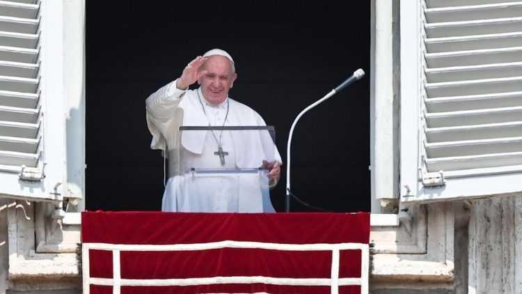 Слово Папы Франциска  в 21-е Рядовое воскресенье.