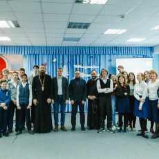 25 декабря круглый стол в Православной гимназии