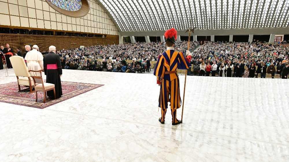 На общей аудиенции 19 февраля Папа Франциск размышлял о блаженстве кротких