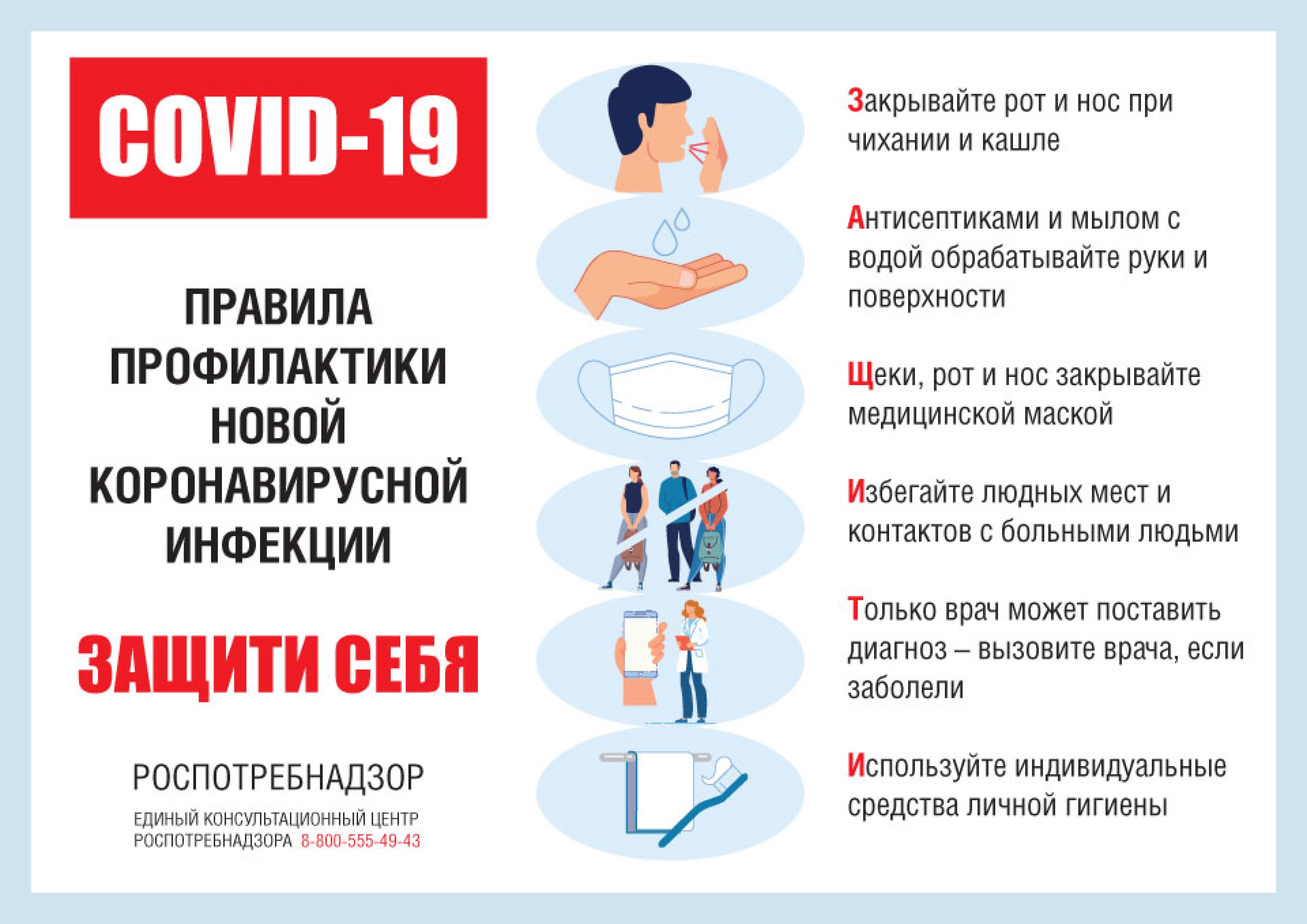 Памятка: Профилактика гриппа и коронавирусной инфекции 4