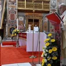 Папа: Божье милосердие – лекарство для души мира