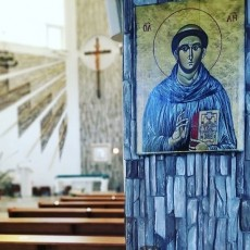Икона Святого Антонио Чудотворца в нашем храме