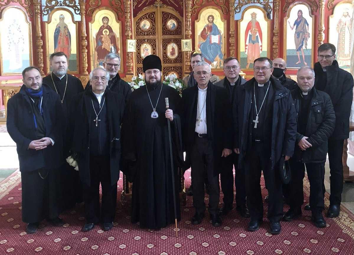 Братский визит к православным в Юрге